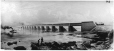 II-47522.2 | Victoria Bridge, Montreal, QC, painted photograph, 1878 | Photograph | Notman & Sandham |  |