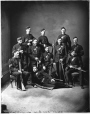 II-47667 | Captain Sully and group of soldiers, Montreal, QC, 1878 | Photograph | Notman & Sandham |  |