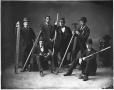 II-48018 | Mr. Hall and friends, Applied Science students, McGill University, Montreal, QC, 1878 | Photograph | Notman & Sandham |  |