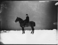 II-75779 | Master Ramsey and horse, Montreal, QC, 1884 | Photograph | Wm. Notman & Son |  |