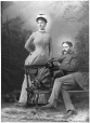 II-77431 | Mr. and Mrs. Baumgarten, Montreal, QC, 1885 | Photograph | Wm. Notman & Son |  |