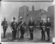 II-81235 | Officiers, École d'infanterie de Saint John, photographie composite, 1886 | Photographie | Wm. Notman & Son |  |