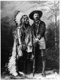 II-83125 | Sitting Bull and Buffalo Bill, Montreal, QC, 1885 | Photograph | Wm. Notman & Son |  |