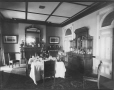 II-87603 | Mrs. Louis J. Forget's dining room, Montreal, QC, 1888 | Photograph | Wm. Notman & Son |  |