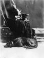 II-9264.1 | Le chien de M. Hall, Montréal, QC, 1874 | Photographie | William Notman (1826-1891) |  |