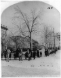 VIEW-1011.1 | Victoria Square in Winter, Montreal, QC, about 1875 | Photograph | William Notman (1826-1891) |  |