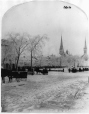 VIEW-1012.1 | Victoria Square in Winter, Montreal, QC, about 1875 | Photograph | William Notman (1826-1891) |  |