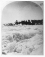 VIEW-1141.1 | Railway on the ice over St. Lawrence River, Montreal, QC, 1880 | Photograph | William Notman (1826-1891) |  |