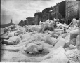 VIEW-1145.0 | Ice shove, Commissioner Street, Montreal, QC, about 1880 | Photograph | William Notman (1826-1891) |  |