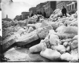 VIEW-1146.1 | Ice shove, Montreal harbour, QC, about 1880 | Photograph | William Notman (1826-1891) |  |