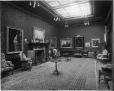 II-137813 | J.K.L. Ross' livingroom and paintings, Montreal, QC, 1901 | Photograph | Wm. Notman & Son |  |