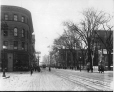 VIEW-15471 | St. Catherine Street at Union Avenue, looking west, Montreal, QC, 1915 | Photograph | Wm. Notman & Son |  |