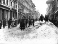 VIEW-1577.A | Clearing snow, Notre Dame Street, Montreal, QC, about 1887 | Photograph | Wm. Notman & Son |  |