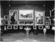 VIEW-16062 | Interior with paintings, Lord Strathcona's residence, Montreal, QC, 1916 | Photograph | Wm. Notman & Son |  |