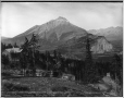 VIEW-1639 | Vue du mont Cascade depuis les sources thermales Upper Hot Springs, Banff, Alb., 1887 | Photographie | William McFarlane Notman |  |