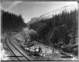 VIEW-1647 | Le col Kicking Horse en direction est, C.-B., 1887 | Photographie | William McFarlane Notman |  |