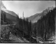 VIEW-1652 | Le col Kicking Horse en direction ouest, C.-B., 1887 | Photographie | William McFarlane Notman |  |