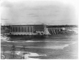 VIEW-17255.1 | Centrale électrique et barrage, Grand-Mère, QC, 1917 | Photographie | Wm. Notman & Son |  |