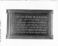 VIEW-17781 | Memorial plaque to Gordon H. Blackader, 1918 | Photograph | Wm. Notman & Son |  |