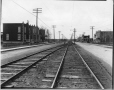 VIEW-19346 | Unidentified street with railway tracks, Montreal, QC, 1920 | Photograph | Wm. Notman & Son |  |