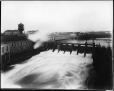 VIEW-21016.0 | Power dam, Howard Smith Paper Mill, Beauharnois, QC, about 1924 | Photograph | Anonyme - Anonymous |  |