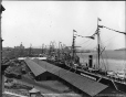 VIEW-2230 | Harbour from examining warehouse, Montreal, QC, about 1890 | Photograph | Wm. Notman & Son |  |