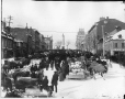 VIEW-2423 | Market day, Jacques Cartier Square, Montreal, QC, about 1890 | Photograph | Wm. Notman & Son |  |