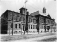 VIEW-2545.1 | Montreal High School, Peel Street, Montreal, QC, about 1895 | Photograph | Wm. Notman & Son |  |