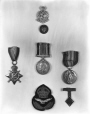 VIEW-25821 | Medals and military insignia for Mrs. Burns, 1934-35 | Photograph | Wm. Notman & Son |  |