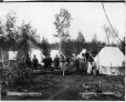 VIEW-2716 | Montagnais group in camp, Lake St. John, QC, 1892 (?) | Photograph | Wm. Notman & Son |  |