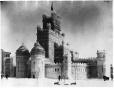 VIEW-2726.1 | Ice palace, Dominion Square, Montreal, QC, 1885 | Photograph | Wm. Notman & Son |  |