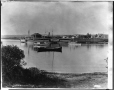 VIEW-3201.1 | Steamboat dock, Roberval House, Lake St. John, QC, about 1898 | Photograph | Wm. Notman & Son |  |