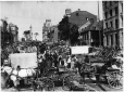 VIEW-3213 | Market day, Jacques Cartier Square, Montreal, QC, about 1900 | Photograph | Wm. Notman & Son |  |