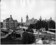 VIEW-3362.2 | Post Office and Parliament Buildings, Ottawa, ON, 1901 (?) | Photograph | Wm. Notman & Son |  |