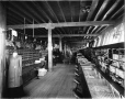 VIEW-3514 | Interior of store, Laurentide Pulp Mills, Grand'Mère, QC, about 1900 | Photograph | Wm. Notman & Son |  |