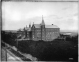 VIEW-3540 | Convent at Roberval, Lake St. John, QC, about 1903 | Photograph | Wm. Notman & Son |  |
