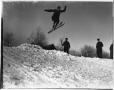 VIEW-3741.3 | Ski-jumping on Mount Royal, Montreal, QC, 1905, copied ca.1945 | Photograph | Wm. Notman & Son |  |
