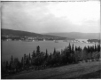 "VIEW-3963 | Departure of S.S. ""Lady Eileen"", Gaspé, QC, about 1900 