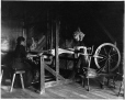 VIEW-4036 | Mrs. Jiasson weaving, Roberval, Lake St. John, QC, about 1906 | Photograph | Wm. Notman & Son |  |