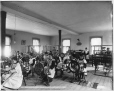 VIEW-4037 | Weaving class, Roberval Convent, Lake St. John, QC, about 1906 | Photograph | Wm. Notman & Son |  |