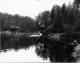 VIEW-4374 | Big Hole, rivière Miramichi, N.-B., vers 1908 | Photographie | Wm. Notman & Son |  |
