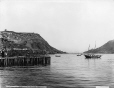 VIEW-4523.0 | Looking out of harbour, St. John's, NF, 1908 | Photograph | William McFarlane Notman |  |