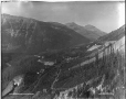 VIEW-4741 | C.P.R. Kicking Horse Valley loops, BC, 1909 | Photograph | William McFarlane Notman |  |