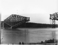 VIEW-5665 | Quebec Bridge during construction, Quebec City, QC, 1916 | Photograph | Wm. Notman & Son |  |