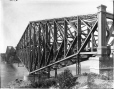 VIEW-5667 | Quebec Bridge during construction, Quebec City, QC, 1916 | Photograph | Wm. Notman & Son |  |