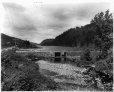 VIEW-5722 | Barrage sur le lac Bousquet, QC, 1916 (?) | Photographie | Wm. Notman & Son |  |