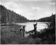 VIEW-5763 | Lac Truite, au nord de Casimir, près de La Tuque, QC, 1916 (?) | Photographie | Wm. Notman & Son |  |
