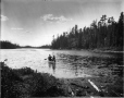 VIEW-5764 | Lac Long, près de La Tuque, QC, 1916 (?) | Photographie | Wm. Notman & Son |  |