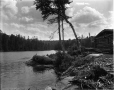 VIEW-5769 | Camp au lac des Isles, près de La Tuque, QC, 1916 (?) | Photographie | Wm. Notman & Son |  |
