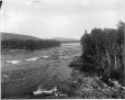 VIEW-5776 | La rivière Saint-Maurice à Sanmaur, QC, 1916 (?) | Photographie | Wm. Notman & Son |  |